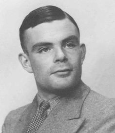 Alan Turing, master cypher and mathematician, leader of the team that broke the Enigma code, inventor of the first large scale computer and originator of the basic principles of artificial intelligence.     Blackmailed into admitting his homosexuality, convicted and chemically castrated in 1952. Suspected suicide 1954. Born 100 hundred years ago, June 23rd this year.