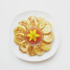 Madame isst - Grießmonde mit Banane und Kokos - Madame M.
