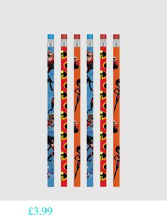 The Incredibles Pencils 4ct