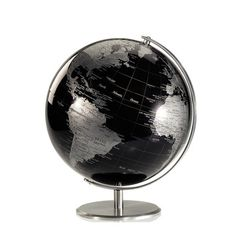 Planet Globe Dark, now featured on Fab. Industrial House, Solid Wood Furniture, Kugel, Midnight Blue, Design Your Own, Things To Buy, Tech Accessories, Household, Objects