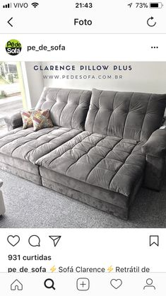 Dream Furniture, Living Room Furniture, Home Furniture, Living Room Decor, Bedroom Decor, Sofa Design, Interior Design, Deep Sofa, Chill Room