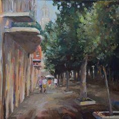 """""""Paseo de la Rambla, Girona"""""""