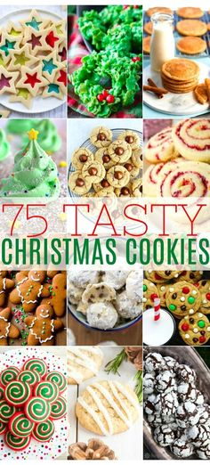 75 Tasty Christmas Cookies is certain to inspire your baking plans. Use it as a resource for all things delicious to make the season merry and bright. Chocolate Marshmallow Cookies, Chocolate Chip Shortbread Cookies, Toffee Cookies, Yummy Cookies, Holiday Cookies, Holiday Desserts, Holiday Baking, Holiday Treats, Holiday Recipes