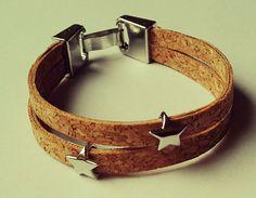 Hoi! Ik heb een geweldige listing op Etsy gevonden: https://www.etsy.com/nl/listing/268994795/kurk-ster-armband-handgemaakt-handmade