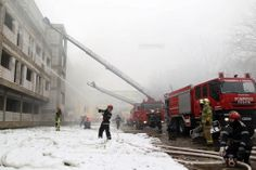 Exercitiu de alarmare la Timisoara. Studentii USAMVB au fost evacuati de urgenta