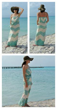 Chevron Maxi Dress $26.00 #summerstyle #maxedout