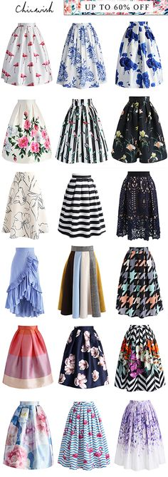 Scene-stealing skirts? Your daily steal is at Chicwish.com. Shop the collection.
