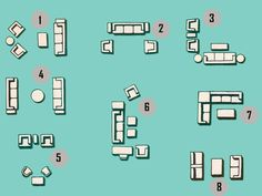 Eight popular furniture layouts | Stylish Western Home Decorating