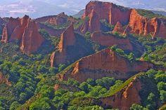 LAS MEDULAS, León, Castilla y León, SPAIN. La mayor mina a cielo abierto del Imperio Romano
