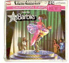 vintage GAF View Master SUPERSTAR BARBIE J70 reel set Mattel Ken Teen Skipper !!