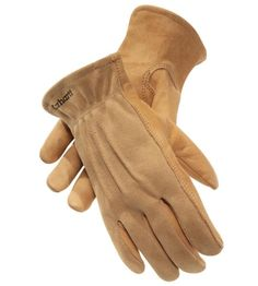 carhartt grained cowhide leather chore gloves