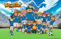 Inazuma Eleven I really love this anime it's a big part of my childhood anyways it's almost Friday by Super 11, Inazuma Eleven Strikers, Aliens, Anime Episodes, Inazuma Eleven Go, Meet The Team, Animated Cartoons, Hd Backgrounds, Awesome Anime
