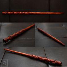 Phoenix Feather, Wizard Wand, Harry Potter Magic, Diy Wand, Unicorn Hair, Fantasy Weapons, Whittling, Hair Sticks, Diy