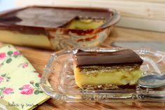 RECETA TARTA DE GALLETAS Y FLAN Esta tarta me trae muchos recuerdos, es la de toda la vida, la que nos hacían nuestras abuelas y madres en las celebraciones