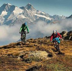 "Sehr geil! ""Beautiful bike ride on Simplon Pass!"" #mtbswitzerland #mtb -  Credits to @filmevondraussen via @iloveactivetravel"
