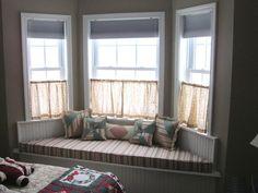 Window Treatments Ideas Curtain Ideas For Bay Windows Elegant Bay ...