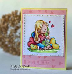 Copic coloring with Crafty Sentiments Stamps stamps. Re-pin and save it for later.