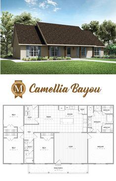 Camellia Bayou Living Sq Ft: 1,920 Bedrooms: 4 Baths: 2 Lake Charles Lafayette Louisiana Baton Rouge