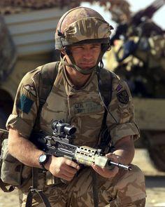 British Sas Member of 3rd battalion