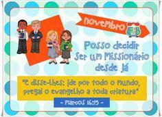 Meninas, A querida Caroline Medeiros Santiago Pascon Duarte (Santo André-SP) fez cartazes lindos dos temas dos meses do próximo ano, nos ...