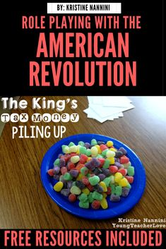 Role Playing with the American Revolution {Freebies Included} - Young Teacher Love 4th Grade Classroom, Middle School Classroom, Classroom Ideas, High School, African American History, British History, Native American, 4th Grade Social Studies