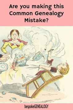 Are you making this common genealogy mistake? Why focusing only on your direct line ancestors is a mistake in genealogy research. #genealogy #familyhistory #ancestors #genealogyresearch #genealogyskills #heritage #familytree #bespokegenealogy