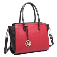 Classic PU Leather Satchel/Handbag