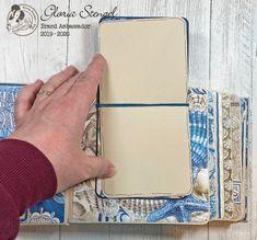 Scraps of Life: Graphic 45 Ocean Blue Mini Album Tutorial Diy Mini Album, Mini Albums Scrap, Mini Album Tutorial, Mini Scrapbook Albums, Scrapbook Templates, Scrapbook Sketches, Graphic 45, Birthday Card Pop Up, Photo Album Scrapbooking