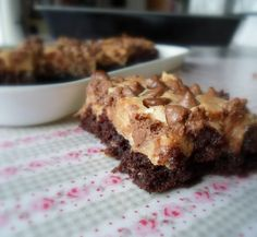 Fluffer Nutter Browniesfrom The English Kitchen