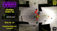 #Destroy all #Projectiles at once. #Vote People Eater Game on #steam for #pc  #indiegame #gamedevelopment #amazing