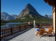 These National Park Hotels Are as Pretty as the Parks They're In: Many Glacier Hotel