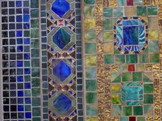 2 of 2: Detail: Fountain base for mosaic wall mural  Designed by Louis Comfort Tiffany (American, New York City 1848–1933 New York City)  Date: ca. 1905–15