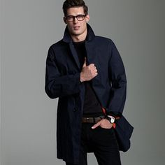 attractive mens coats aren't always easy to find...but this one is PERFECT!