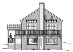Multi Level   Vacation Homes Home With 3 Bedrms, 1477 Sq Ft | Plan #110 1019