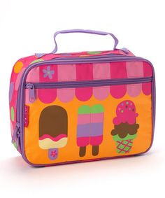 Take a look at this Ice Cream Classic Lunch Box by Stephen Joseph on #zulily today!