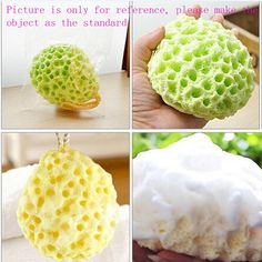 The #BathSponge with comfortable hand feeling, it will not harm your skin.With different kinds of smells for choice. Come on pick one!