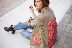 DIY Embroidered Jacket