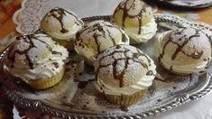 Ötletes és nagyon finom, az elkészítése pedig gyerekjáték, ezért is szeretjük! Macarons, Muffin, Cupcakes, Cookies, Baking, Breakfast, Crack Crackers, Morning Coffee, Cupcake