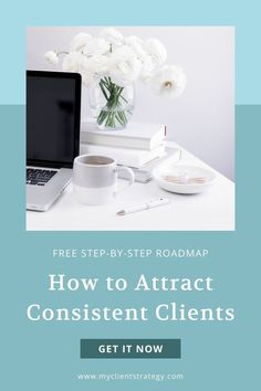 Tired of up and down months and worrying about where you're going to find your next client? Ready to start attracting more of your dream clients? You know, the ones you love to work with! That's where I can help. Build a solid marketing foundation for your service business and start attracting your dream clients with the free step-by-step Consistent Clients Roadmap. #getclients #findclients #profitablebusiness #sustainablebusiness #marketingstrategy #businesstips Consistency, Business Tips, Finding Yourself