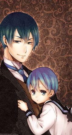 Vincent and Ciel Phantomhive. Kuroshitsuji