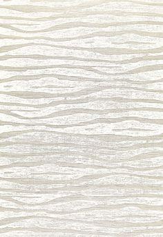 Animal Skin Patterned Sisal Wallcovering in Fog & Chalk // Celerie Kemble…