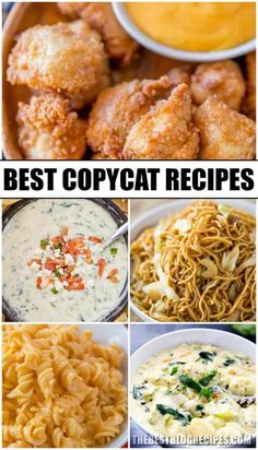 The Best Copycat Recipes are the recipes you need to complete your collection! The copycat recipes in this compilation are the best of the best! Mexican Food Recipes, New Recipes, Dinner Recipes, Cooking Recipes, Favorite Recipes, Ethnic Recipes, Top Secret Recipes, Cooking Stuff, Cooking Hacks