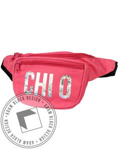 Chi Omega Fannypack by Adam Block Design