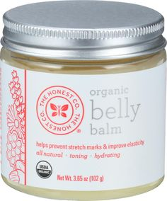 The Honest Company Organic Belly Balm - Unscented - oz A nourishing and revitalizing belly (and body) balm to soften, tone, and moisturize pregnant belly s Stretch Marks During Pregnancy, Prevent Stretch Marks, Stretch Mark Cream, Tamanu Oil, Prenatal Vitamins, Getting Pregnant, I'm Pregnant, Pregnancy Tips, Skin Care Tips