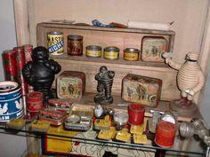 Rare collection Michelin boites et documents