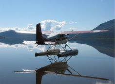 Float plane...the best and only way in most cases to get to the Alaskan suburbs.