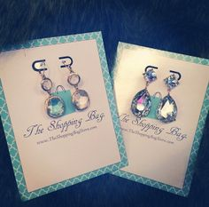Baby it's cold outside... but our jewelry is HOT! We're shipping out some fabulous accessories to our customers this morning. Warm up your look with some jewels by visiting www.ShopTheShoppingBag.com
