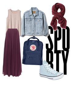"""mix n match 1"" by sienta-azahra on Polyvore featuring Gap, Halston Heritage, Converse, Fjällräven and Banana Republic"