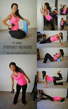 Pregnancy Workouts for Home  these are easy and fun to do!