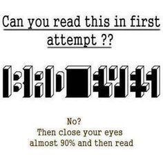 Eye Test....